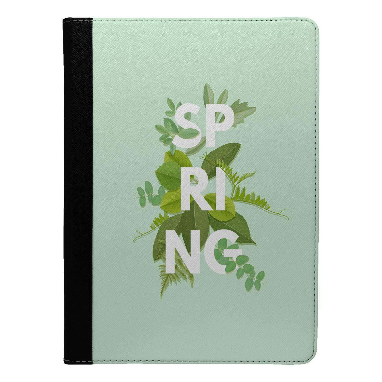 Spring-Flower-Print-Flip-Case-Cover-For-Apple-iPad-S8753