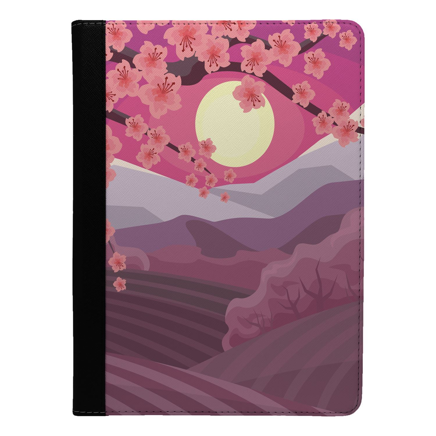 Japanese-Landscape-Print-Flip-Case-Cover-For-Apple-iPad-S8732