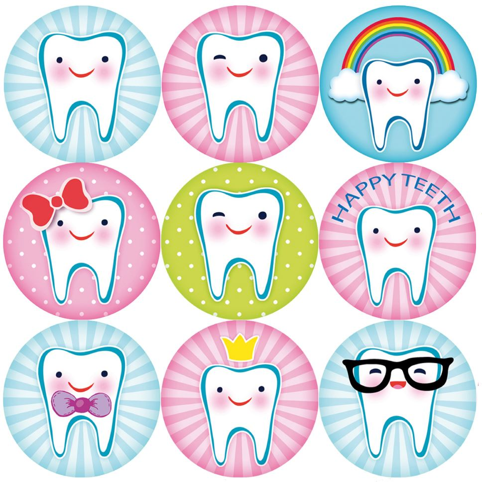 letter amazon 144 happy teeth 30mm children s reward stickers for 5286