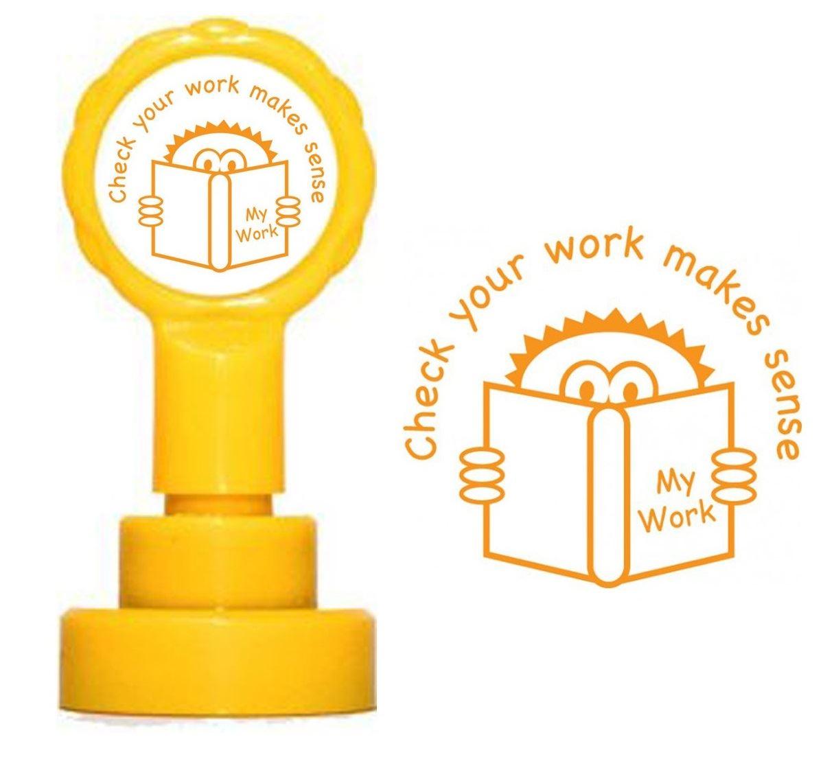 Self inking teacher reward xstamper stamp assisted work T.A