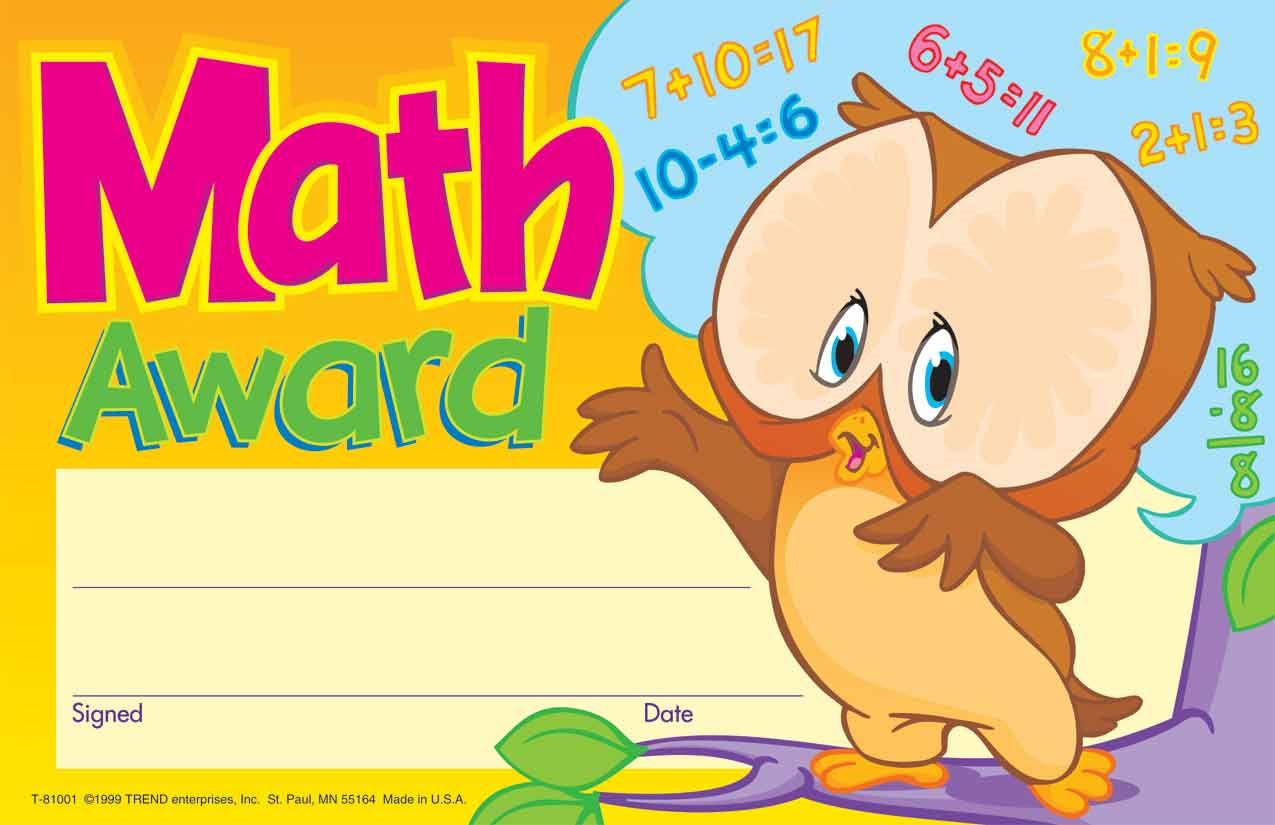 30 kids math award childrens reward recognition certificate 30 kids math award childrens reward recognition certificate awards pad xflitez Images