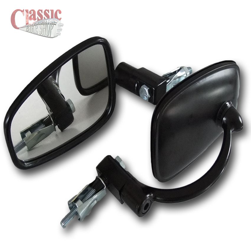 HANDLEBAR BAR END MIRROR TO SUIT ARIEL ARROW//LEADER SQUARE FOR