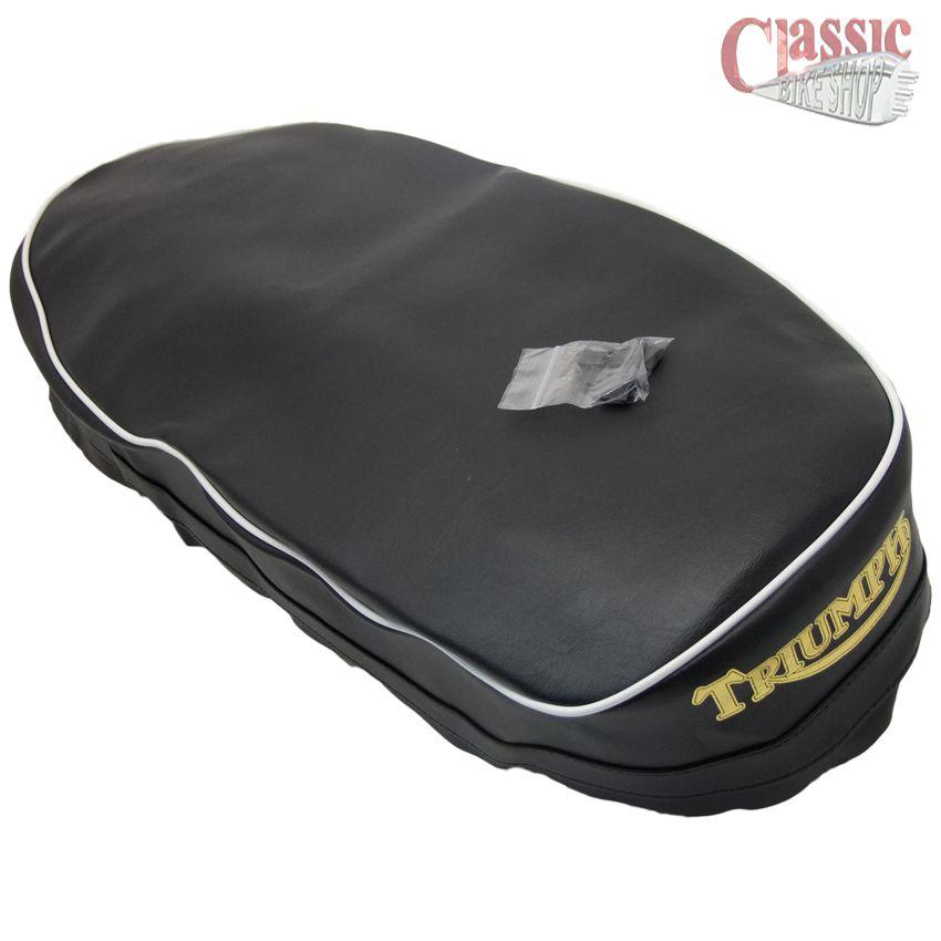 TRIUMPH T120 R//C T120 Bonneville TT seatcover Qualité