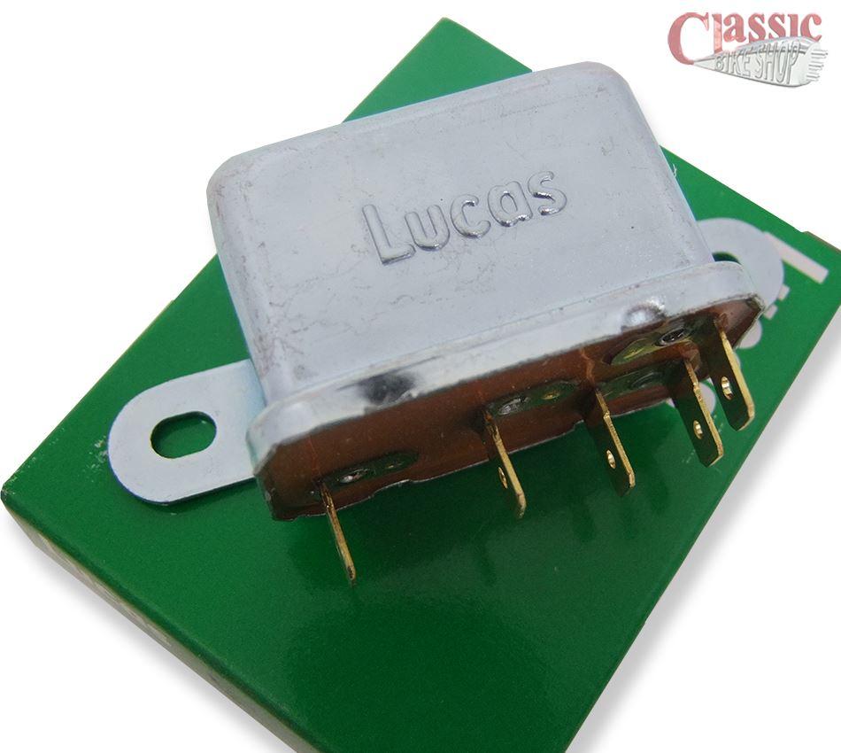 LUCAS HORN RELAY LU33188 LU33302 20 AMP TRIUMPH T140 T150 T160 NORTON BSA A65 R3