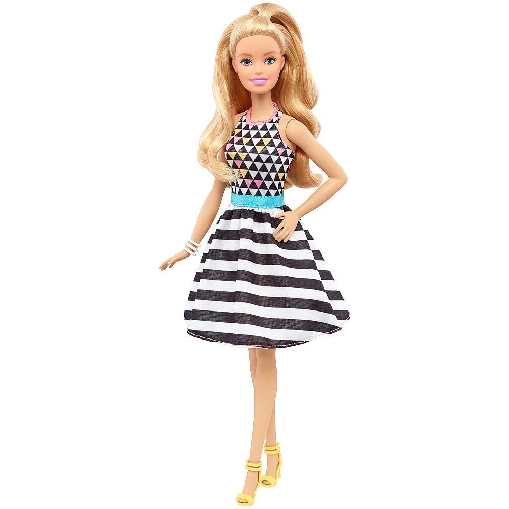 Bambola-Barbie-Fashionista-Daisy-In-Denim-A-Pois-Petite-Plaid-petali-di-potenza-piuttosto
