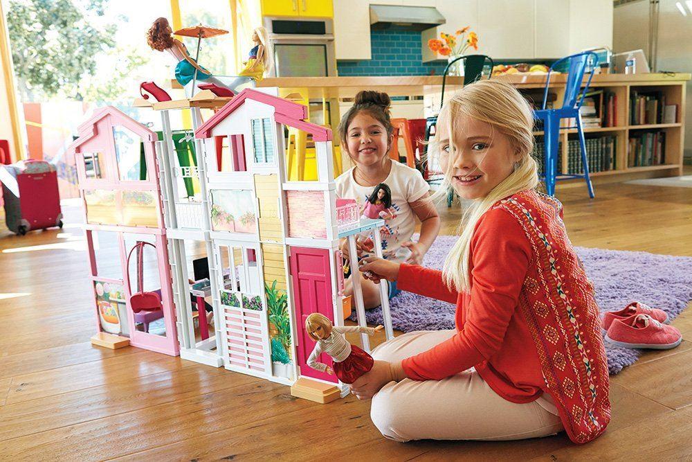 Barbie 3 Story Townhouse Doll Dream House Ebay