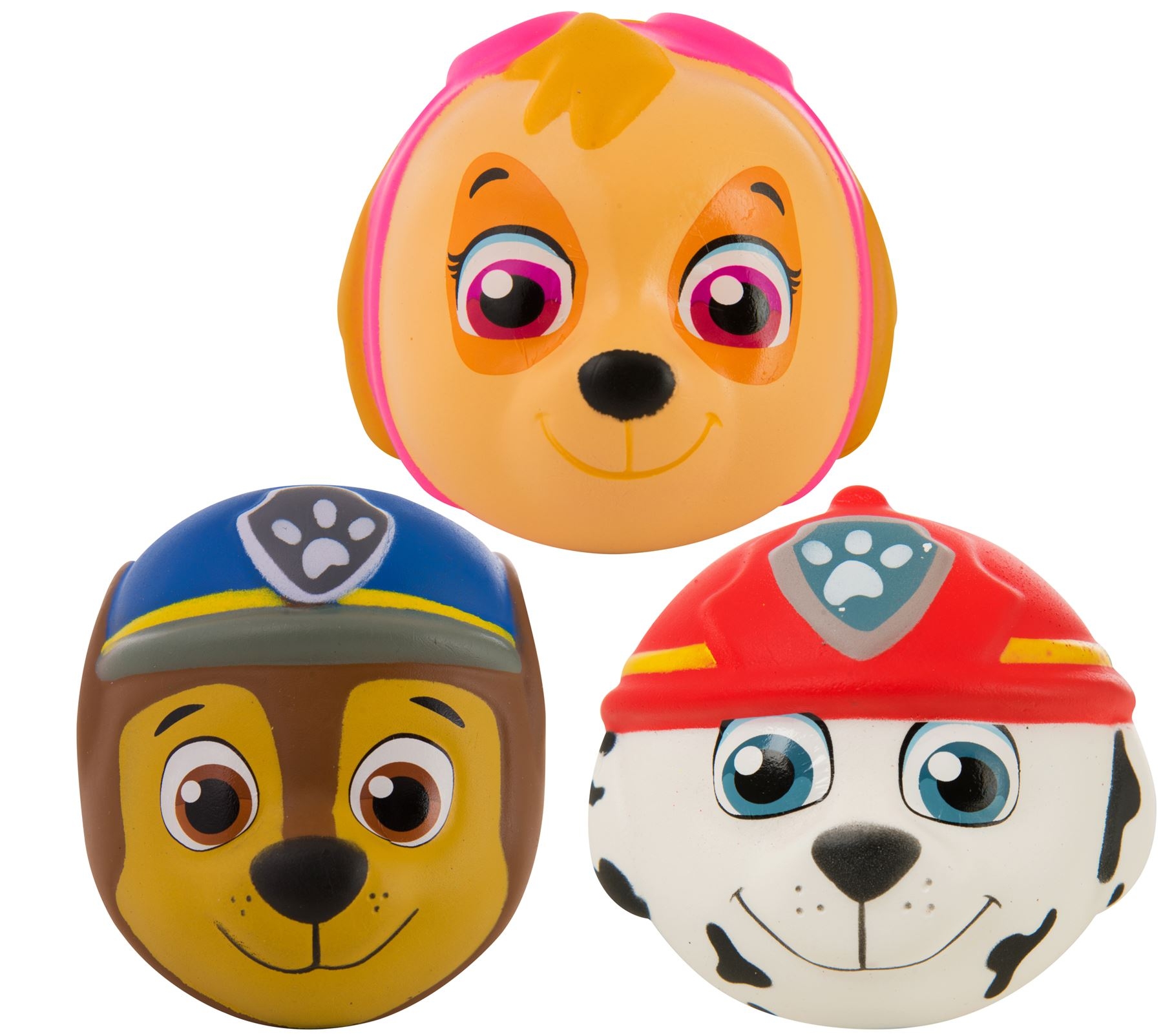 Details about Paw Patrol Squishy Toy Chase, Skye, Marshall