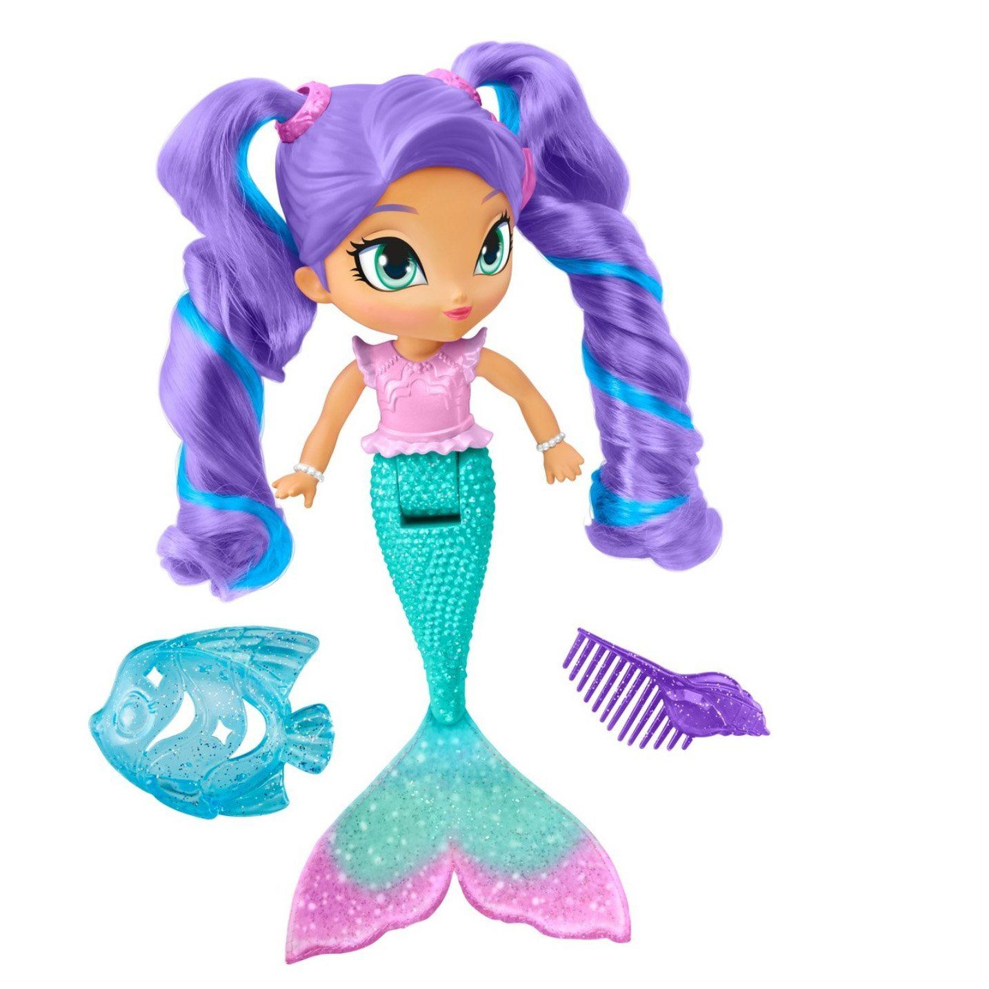 Lovee Doll Amp Toy Co : Shimmer shine magic mermaid nila bath