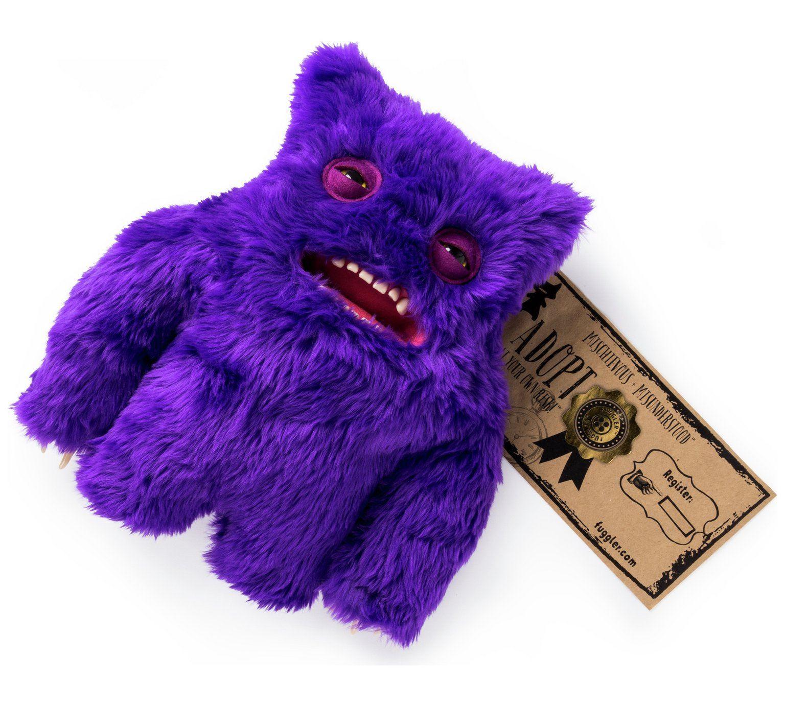 Fuggler-Funny-Uggly-Monsters-Blue-Red-Purple-Light-Red-Stuffed-Animal 縮圖 12