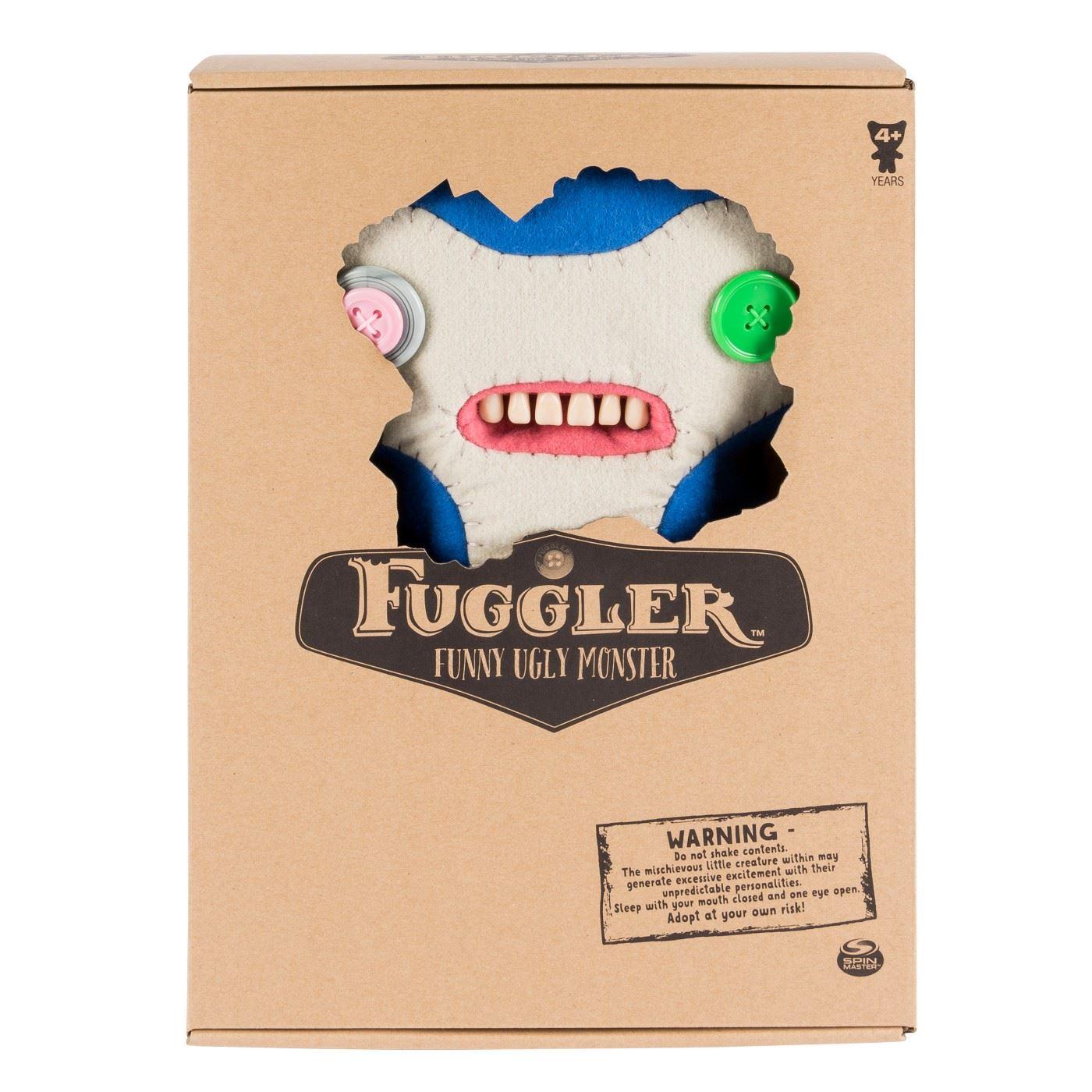 Fuggler-Funny-Uggly-Monsters-Blue-Red-Purple-Light-Red-Stuffed-Animal 縮圖 4