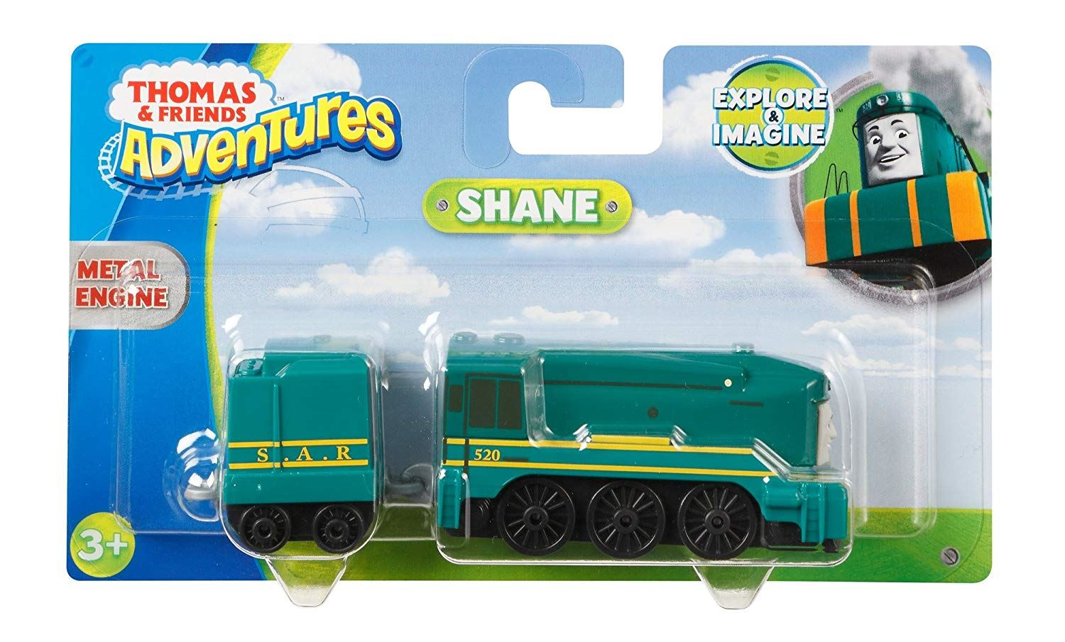 Thomas-amp-Friends-Adventures-Ferdinand-lexi-Shane-Dash-Huge-Bill-Trains Indexbild 43