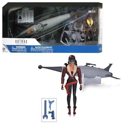 The Animated Series Man-Bat Figure Batman Adventures Roxy-Rocket Figure
