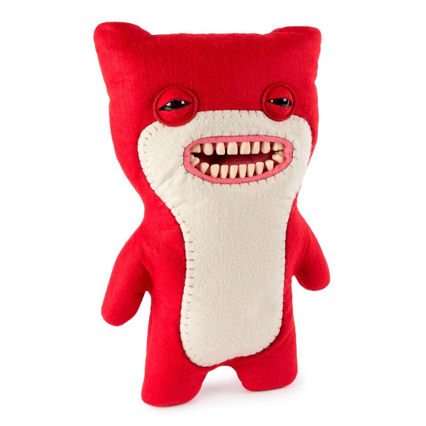 Fuggler-Funny-Uggly-Monsters-Blue-Red-Purple-Light-Red-Stuffed-Animal 縮圖 7