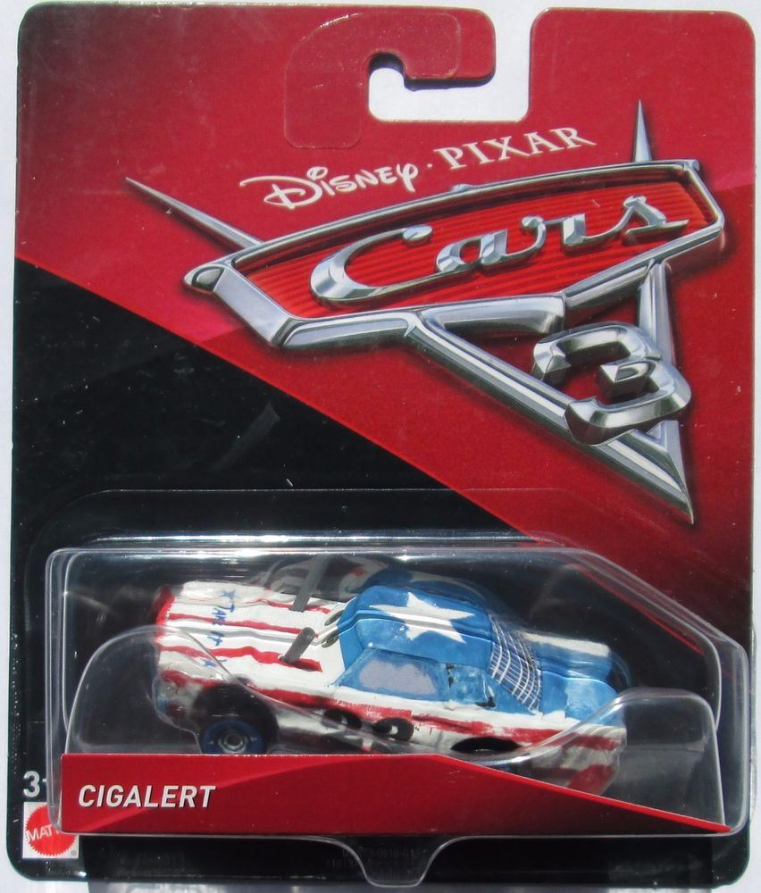 Character Options-Disney Cars 3-Diecast Personnage-Tommy highbanks-Neuf
