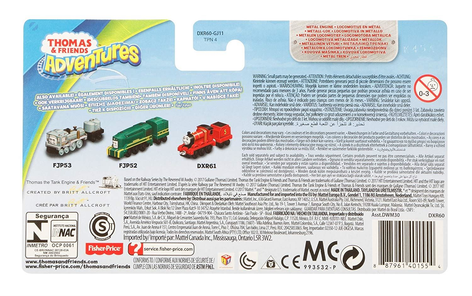 Thomas-amp-Friends-Adventures-Ferdinand-lexi-Shane-Dash-Huge-Bill-Trains Indexbild 26
