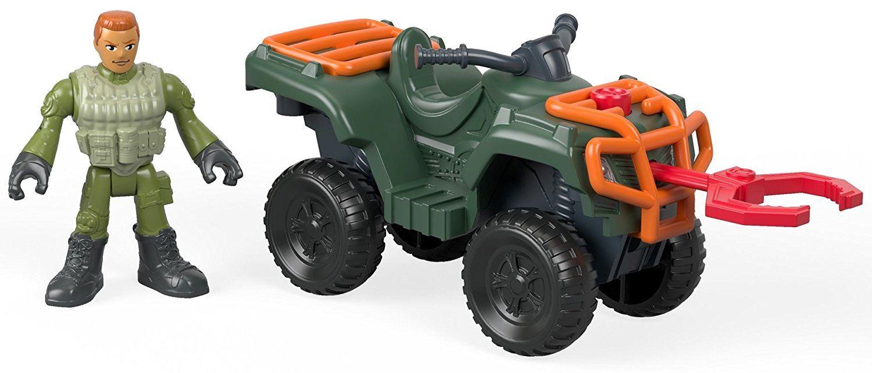Imaginext Jurassic World ATV Quad Claire /& gyrosphere Sun Dino catcher figuras