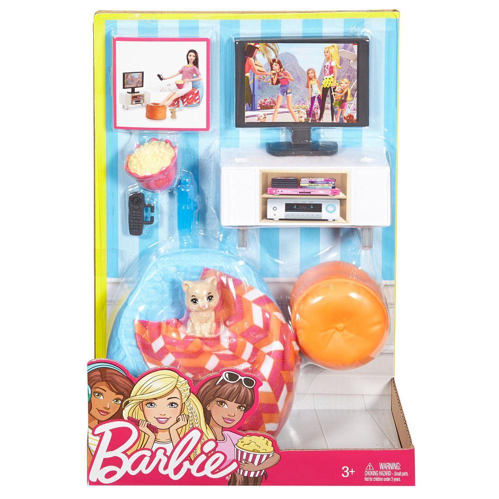 Barbie Dining Room Set: Barbie Date Night Dining Set, Barbie Movie Night Set