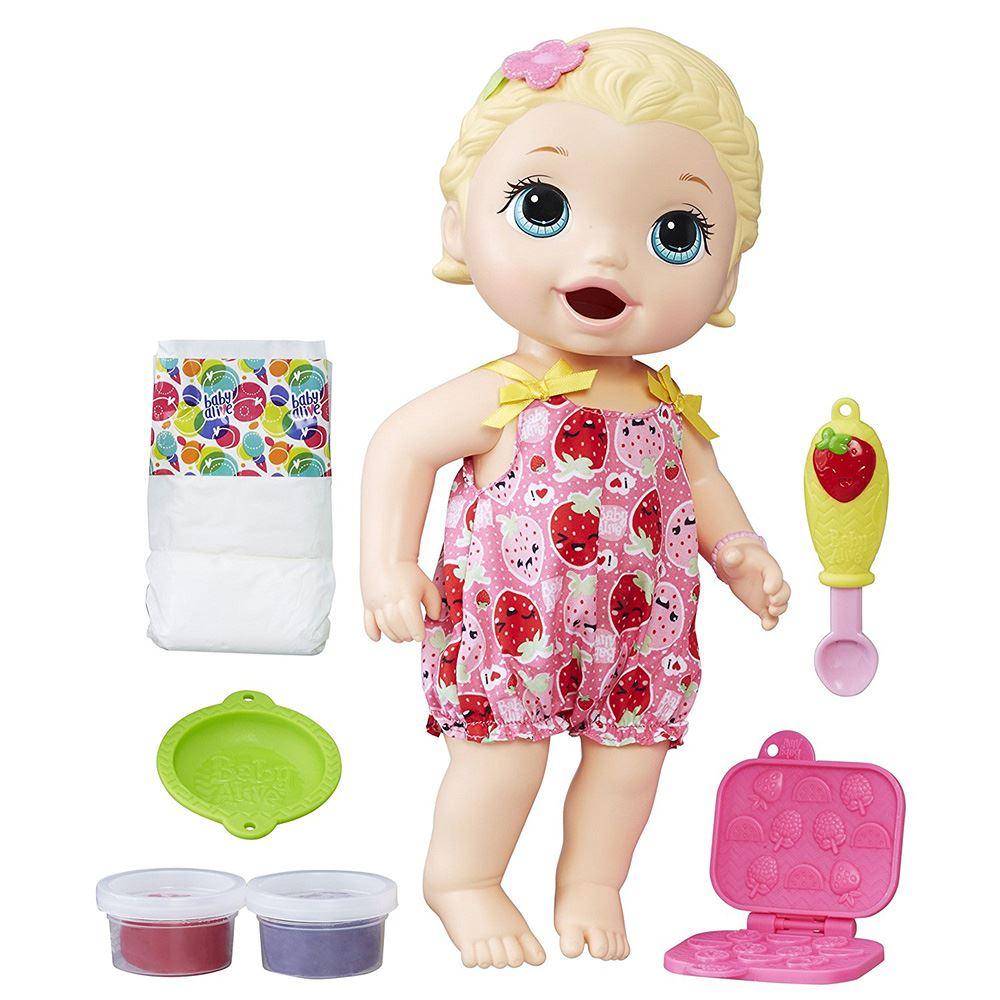 Baby Alive Super Snacks Snackin Lily Doll 5213006220265 Ebay