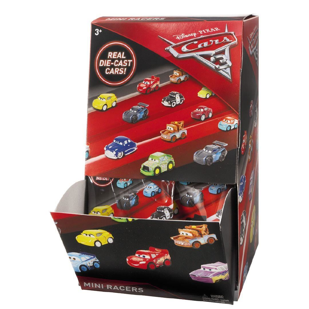 Disney Pixar Cars 3 Diecast Micro Mini Bolsa Ciega de los corredores X 5