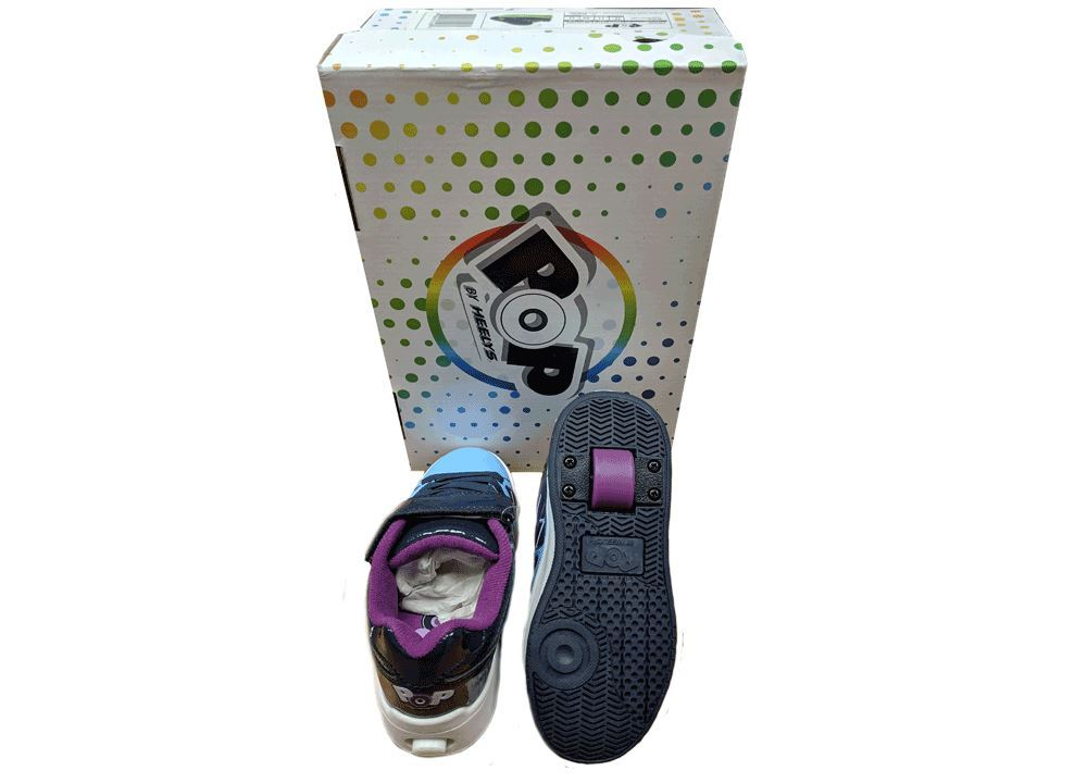 Heelys-1-Wheel-Roller-Shoes-UK-Size-1-2-3-4-5-11-12-13 miniatura 9