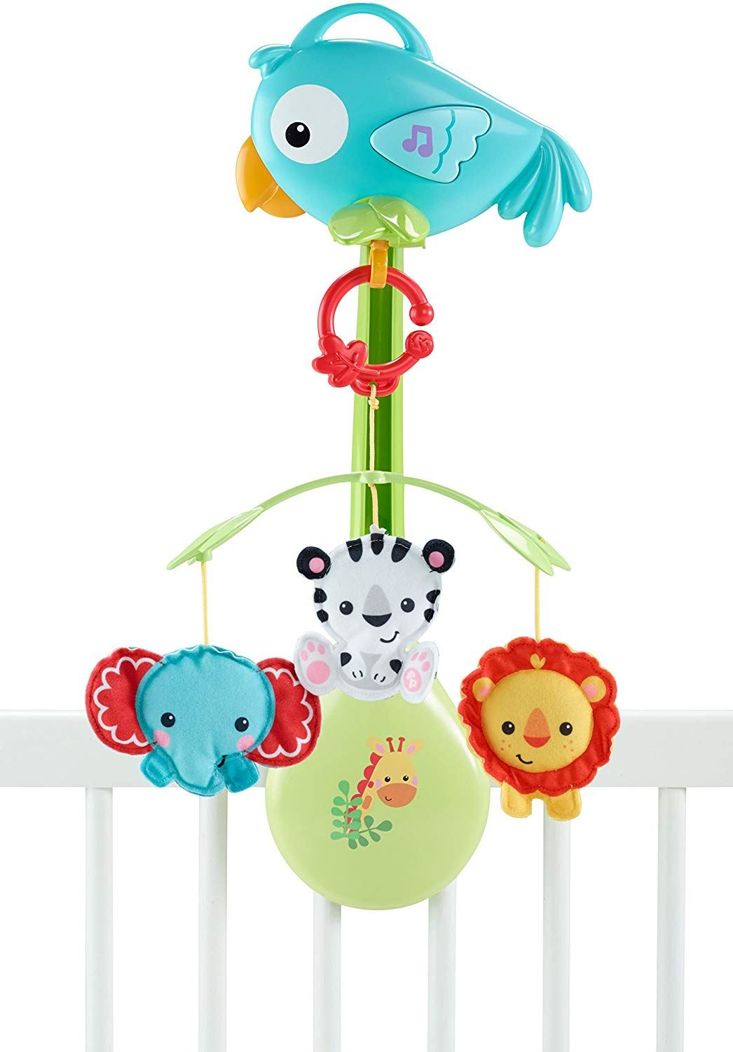 Fisher Price Rainforest Friends 3-in-1 Musical Mobile Baby