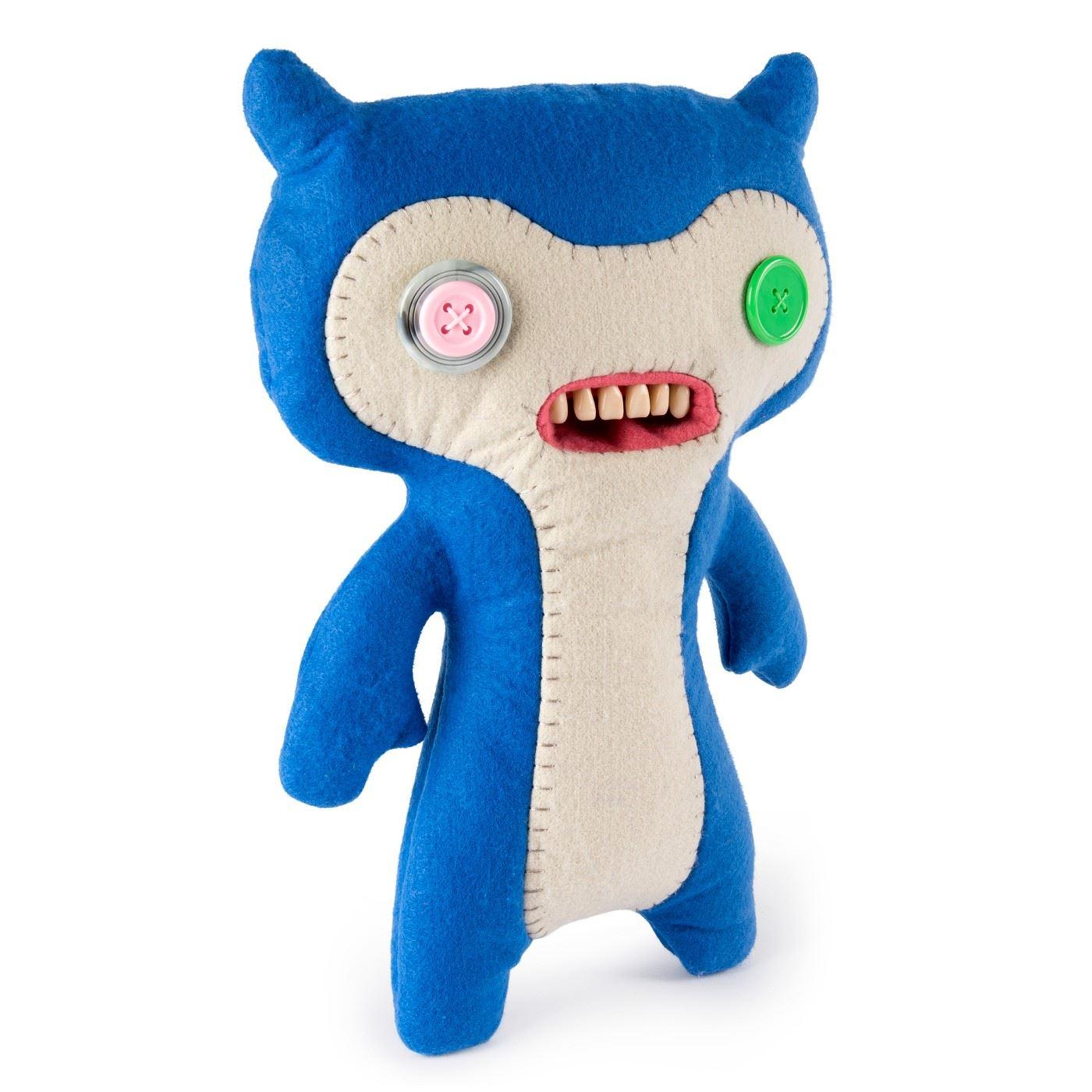 Fuggler-Funny-Uggly-Monsters-Blue-Red-Purple-Light-Red-Stuffed-Animal 縮圖 5