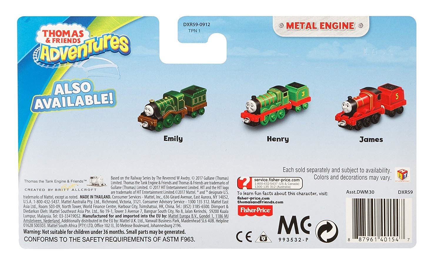 Thomas-amp-Friends-Adventures-Ferdinand-lexi-Shane-Dash-Huge-Bill-Trains Indexbild 37