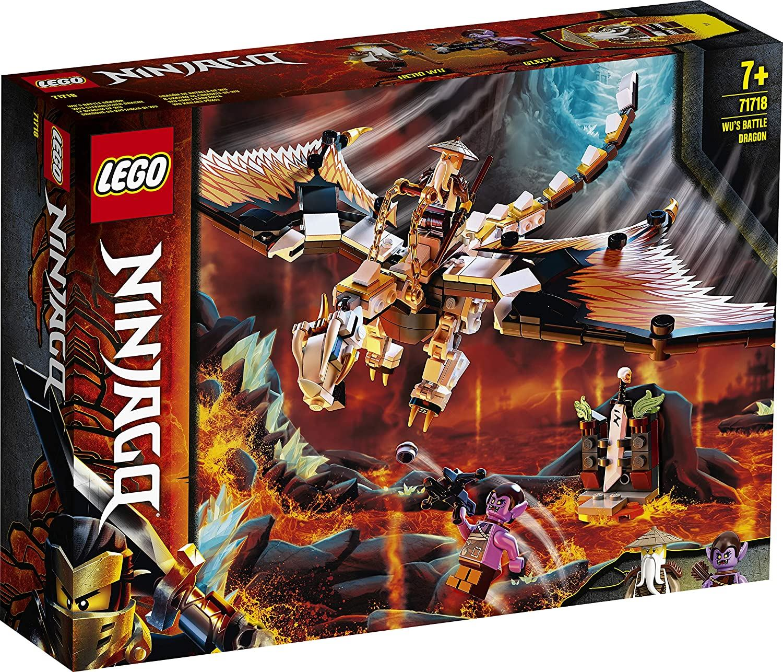 Lego Ninjago Wu's Battle Dragon 71718   eBay