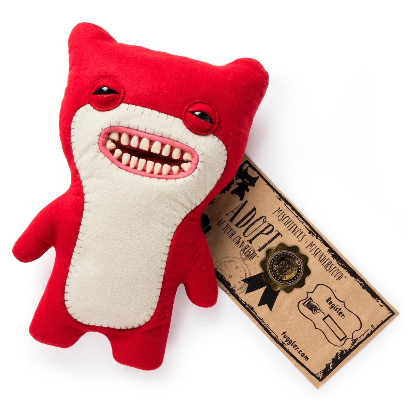Fuggler-Funny-Uggly-Monsters-Blue-Red-Purple-Light-Red-Stuffed-Animal 縮圖 8