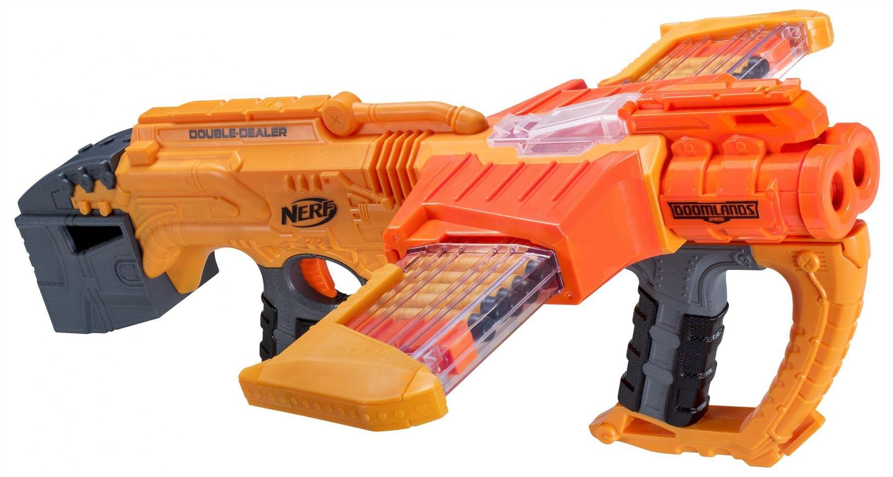 Nerf Doomlands Double Dealer Dart Blaster Gun