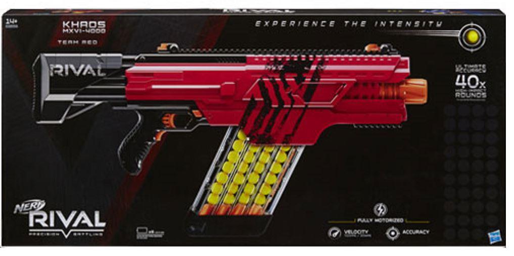 Khaos MXVI-4000 XV-700 3000 50X Tours Nerf Rival série Blaster Artemis XVII