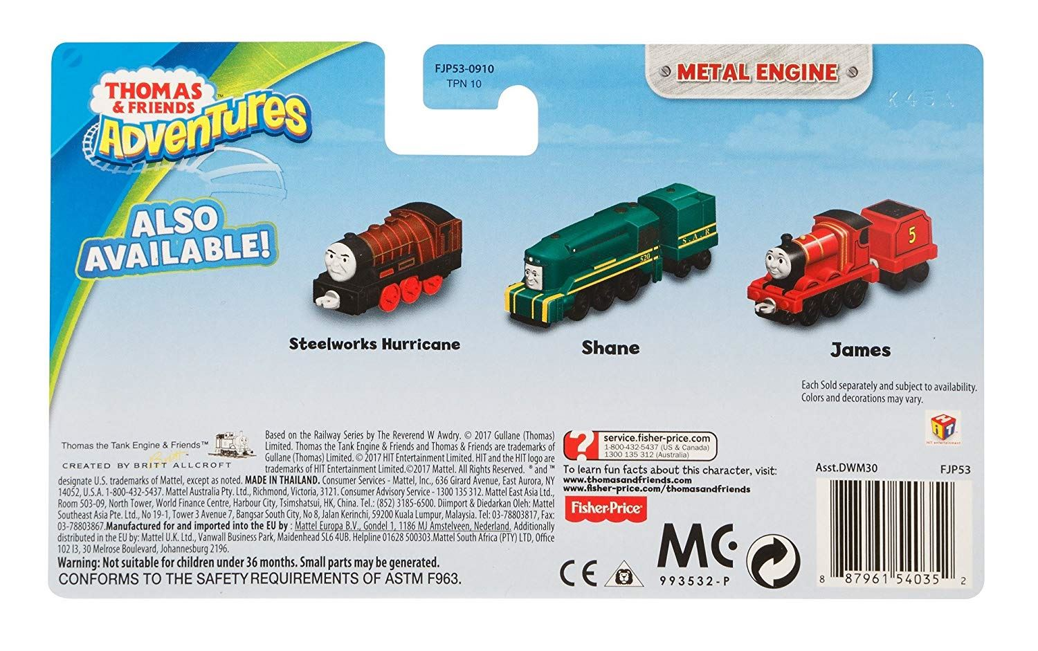 Thomas-amp-Friends-Adventures-Ferdinand-lexi-Shane-Dash-Huge-Bill-Trains Indexbild 29