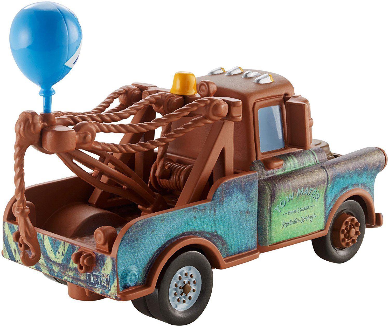 Disney pixar cars die cast lightning mcqueen franccesco for Sarge automobiles garage serus