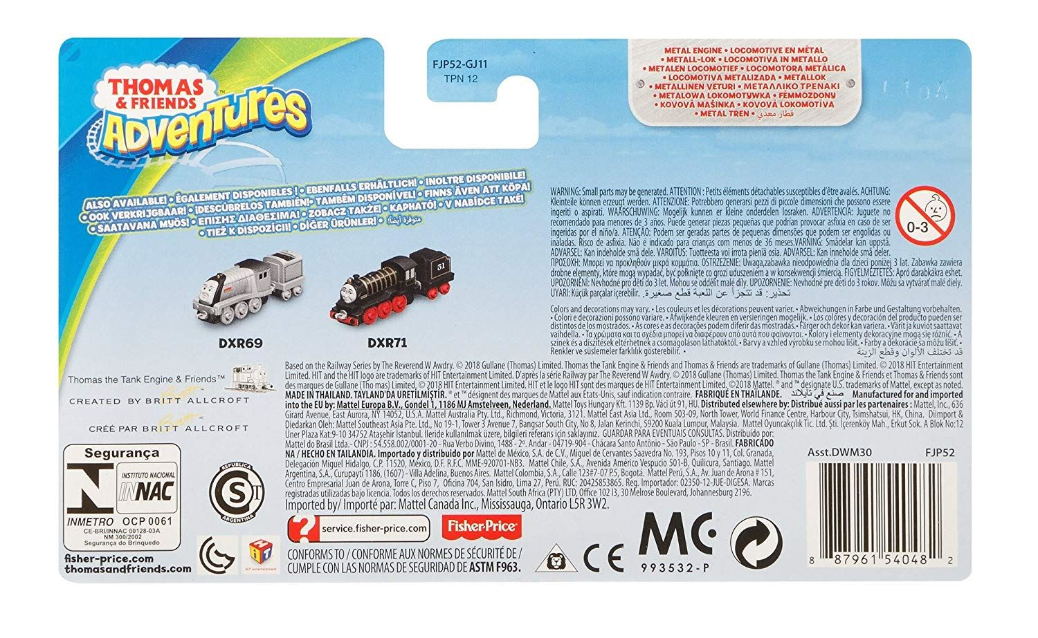 Thomas-amp-Friends-Adventures-Ferdinand-lexi-Shane-Dash-Huge-Bill-Trains Indexbild 42