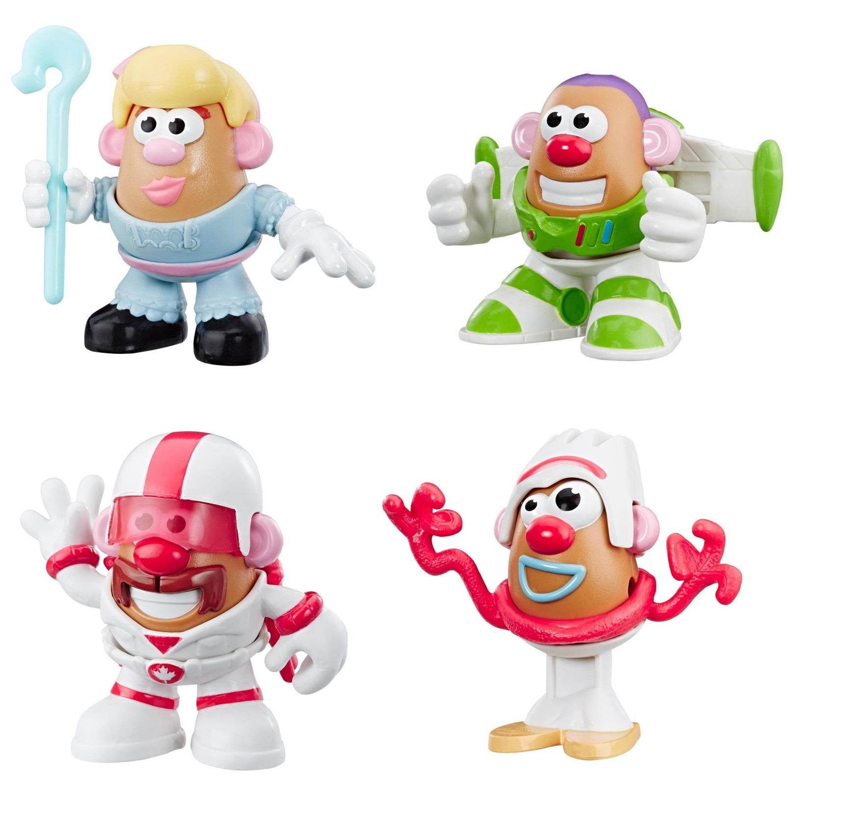 Duke Disney Pixar Toy Story 4 Mini Mr Potato Head Figure-Bo Buzz ou forky