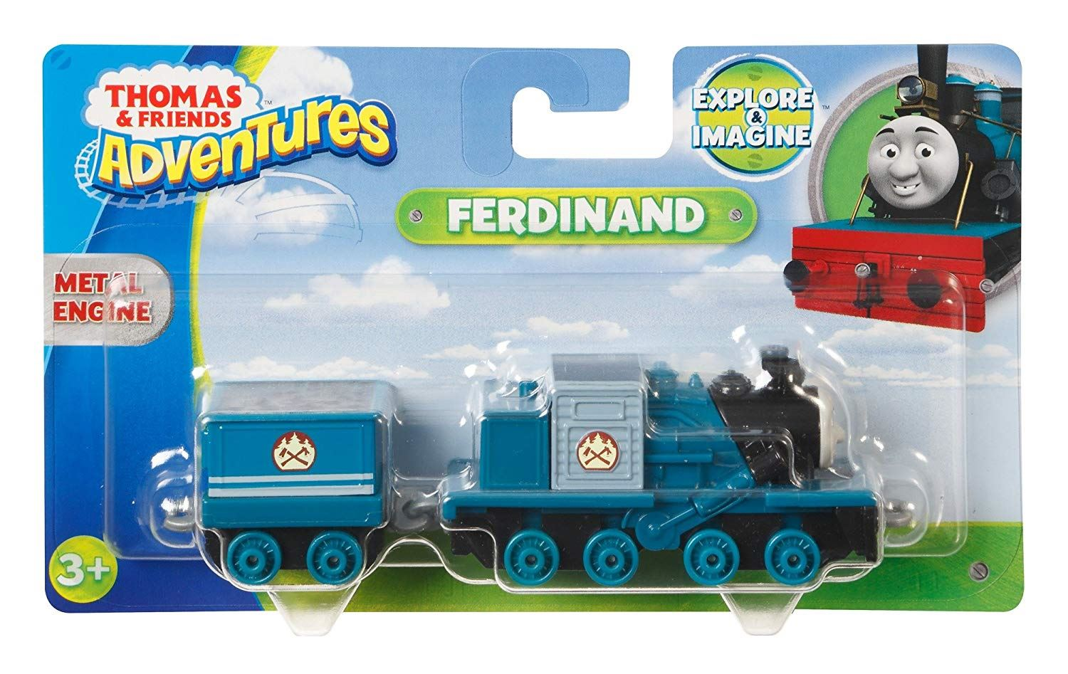 Thomas-amp-Friends-Adventures-Ferdinand-lexi-Shane-Dash-Huge-Bill-Trains Indexbild 13