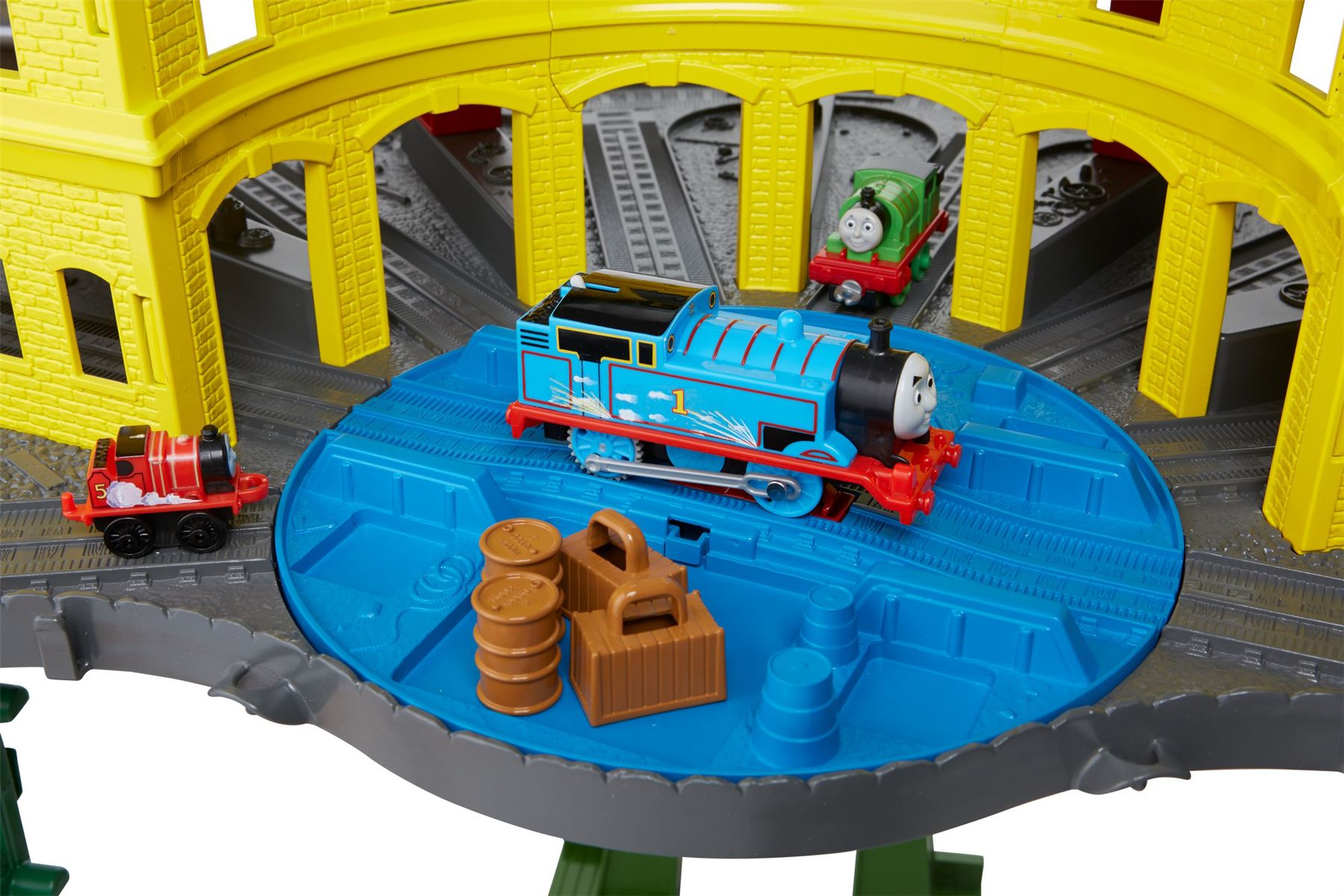 Thomas And Friends Super Station Playset Train Track