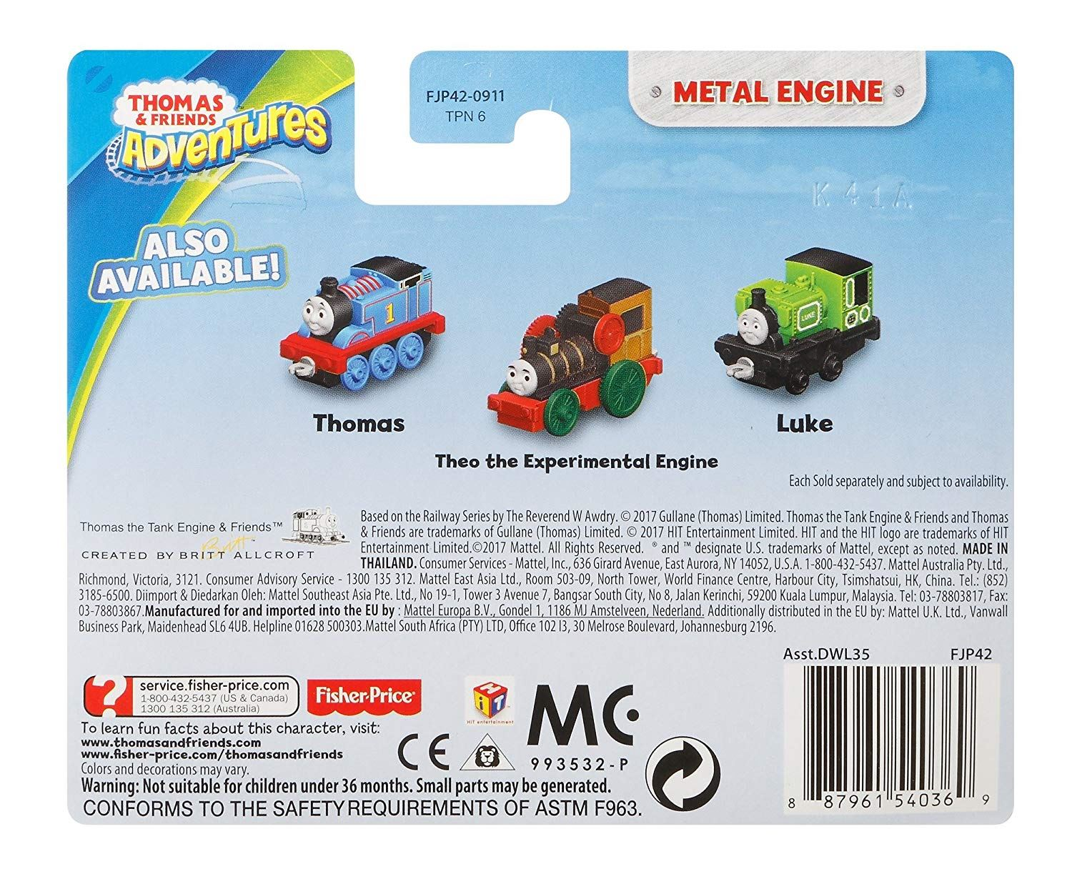 Thomas-amp-Friends-Adventures-Ferdinand-lexi-Shane-Dash-Huge-Bill-Trains Indexbild 6