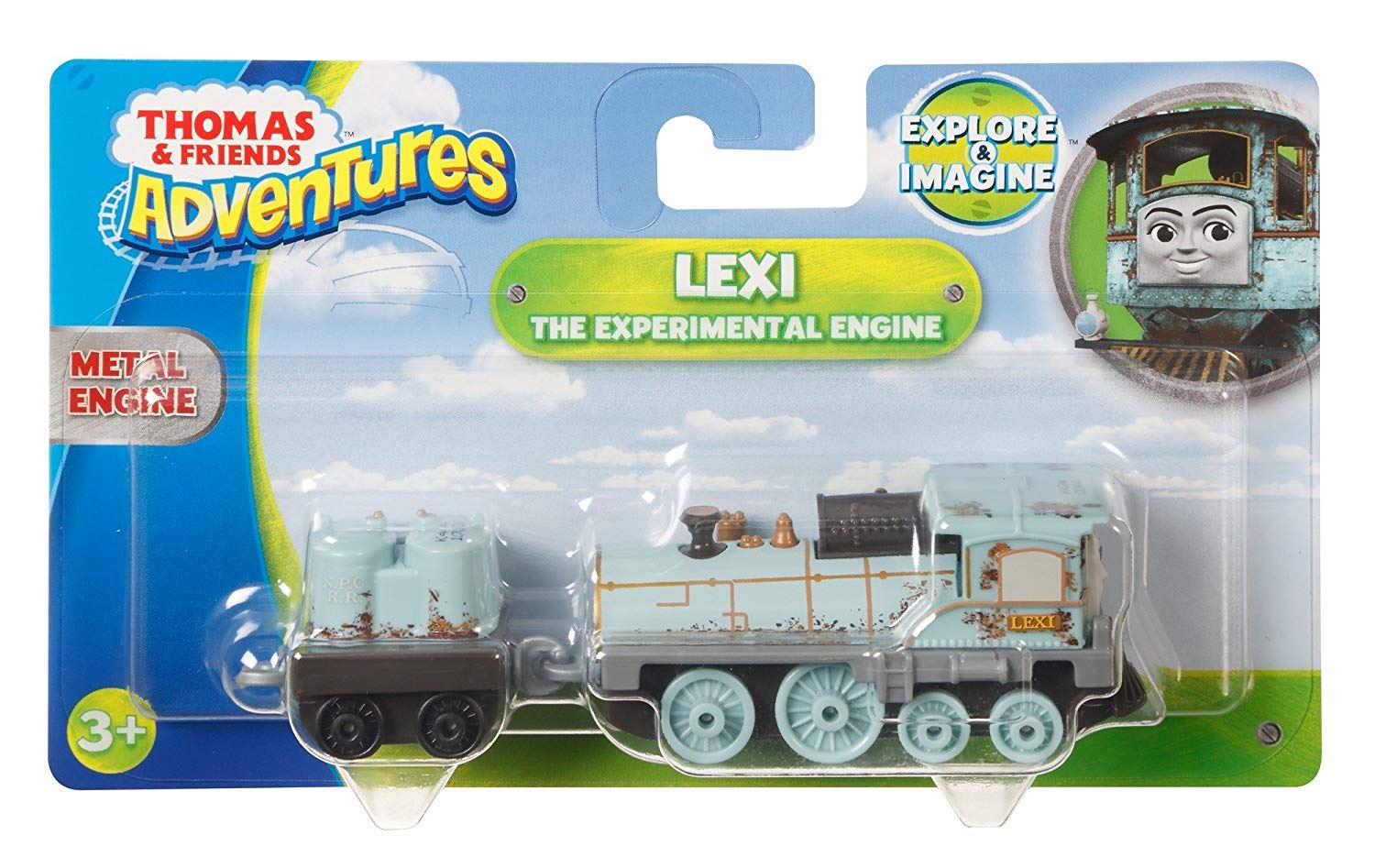 Thomas-amp-Friends-Adventures-Ferdinand-lexi-Shane-Dash-Huge-Bill-Trains Indexbild 32