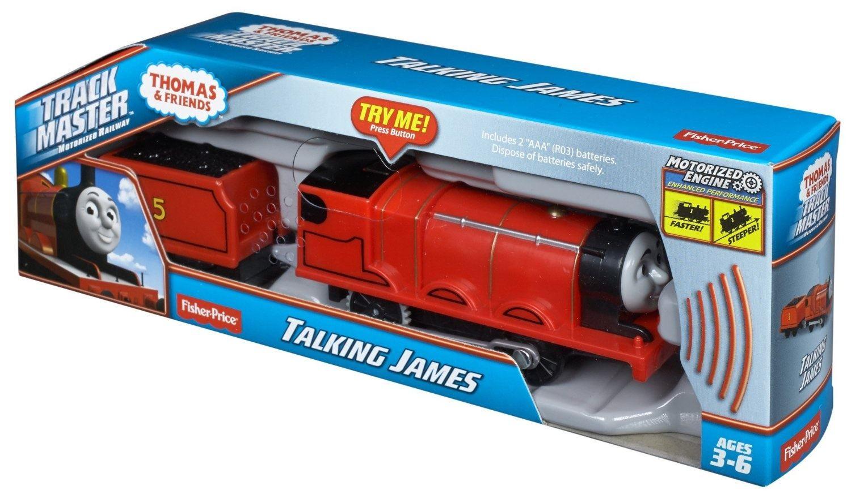 Thomas & Friends Track Master Talking Percy, James, Thomas ...