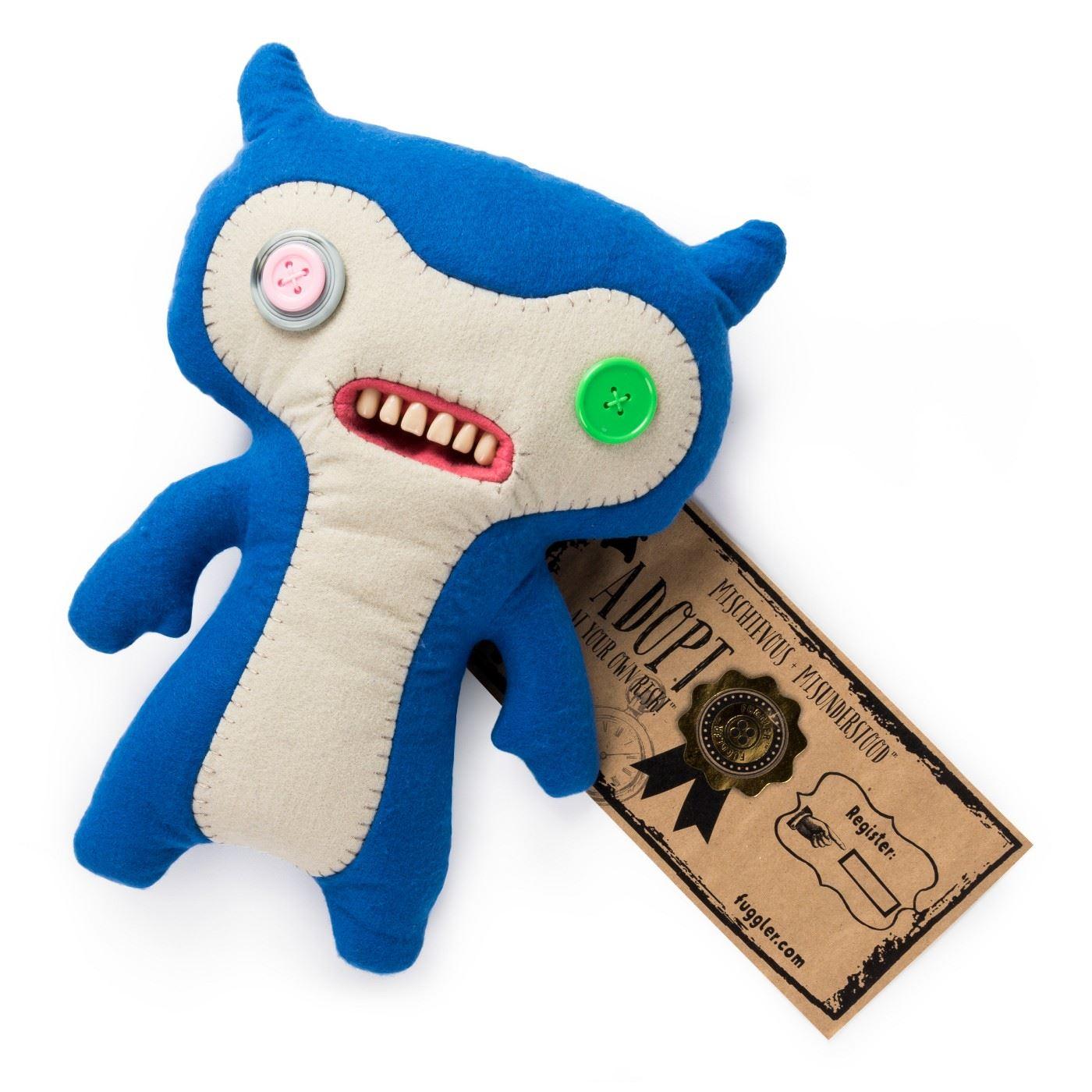 Fuggler-Funny-Uggly-Monsters-Blue-Red-Purple-Light-Red-Stuffed-Animal 縮圖 3