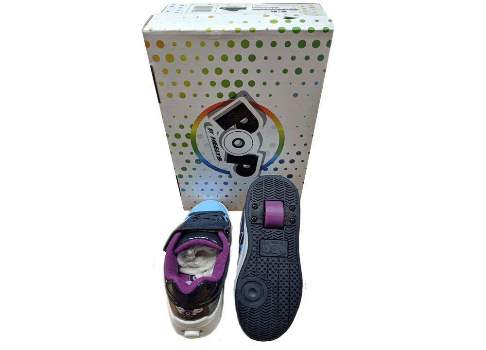 Heelys-1-Wheel-Roller-Shoes-UK-Size-1-2-3-4-5-11-12-13 miniatura 8