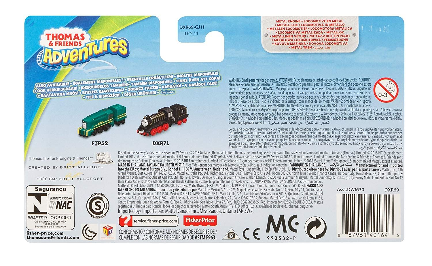 Thomas-amp-Friends-Adventures-Ferdinand-lexi-Shane-Dash-Huge-Bill-Trains Indexbild 45