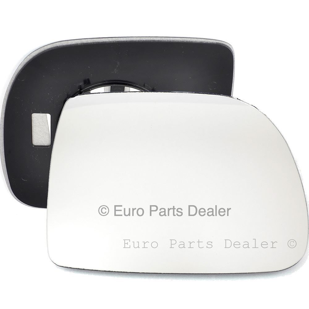 Driver side Clip heated Wide Angle wing mirror glass for Renault Kangoo 02-08