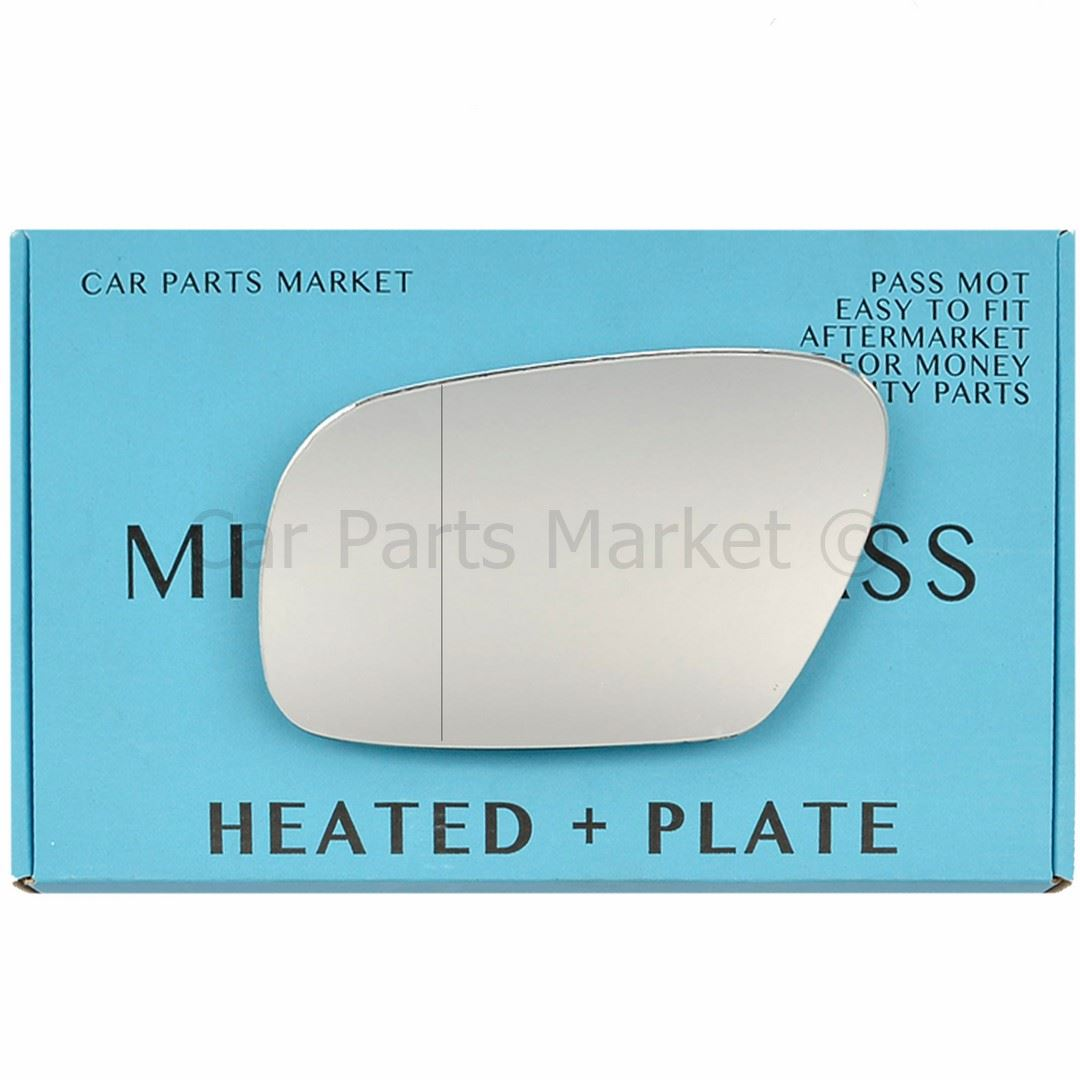 For BMW 3 Series 98-05 Left side Aspheric Electric mirror glass saloon estate