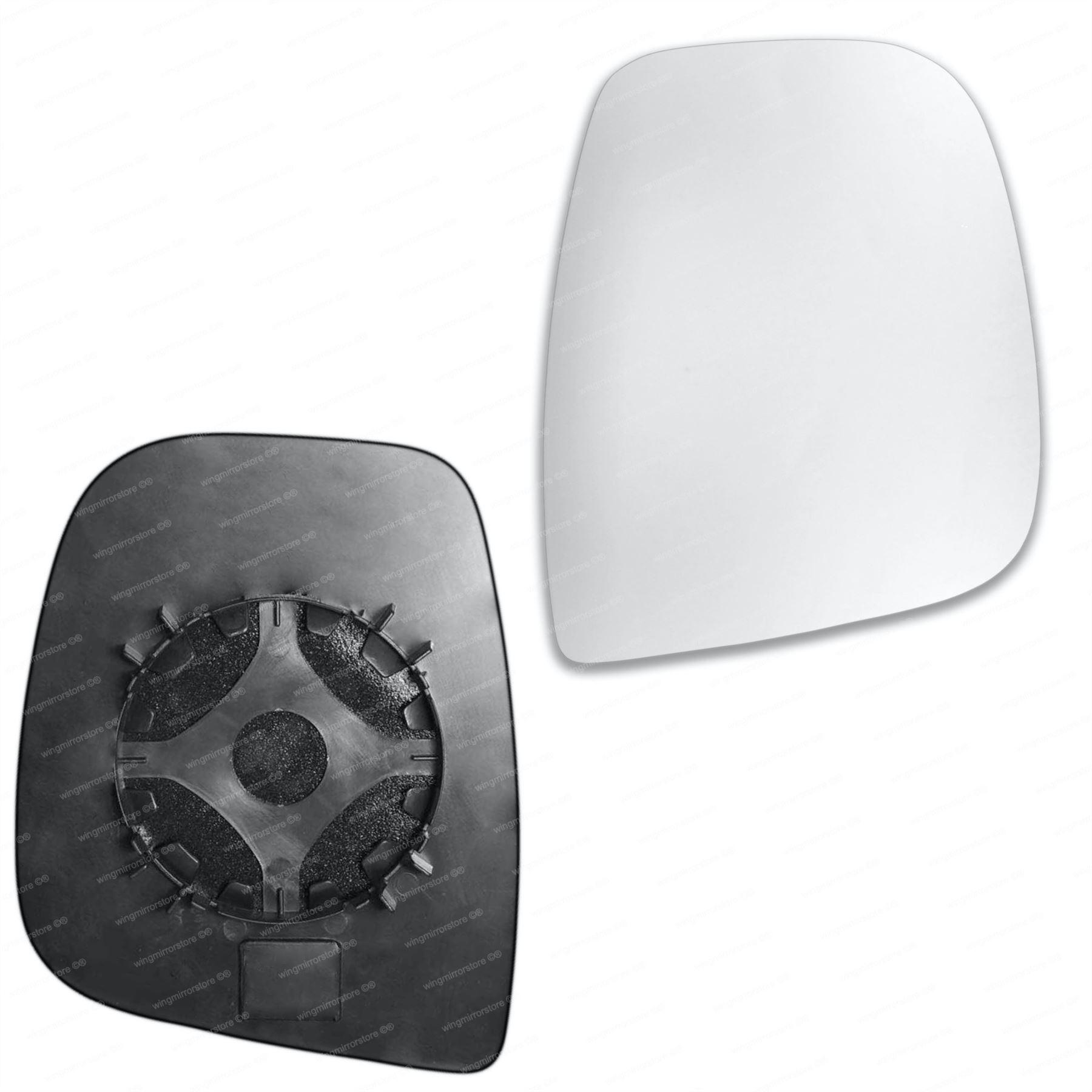 2014/pilote c/ôt/é droit Wing Porte Miroir convexe en verre chauff/é avec plaque de dos Pour Citroen Jumper 2006