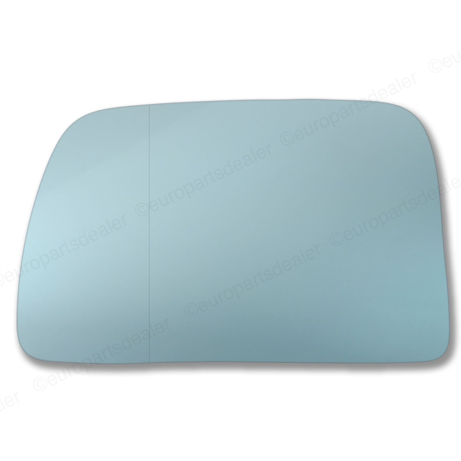 For BMW X5 E53 99-06 left hand side wide angle blue wing door mirror glass