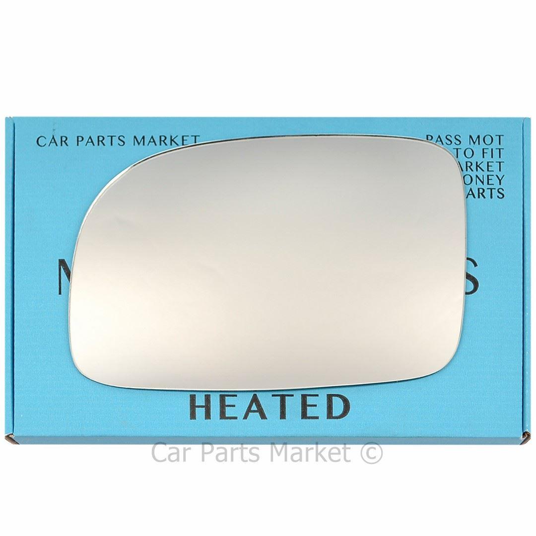 Fits 07-12 Hyundai Santa Fe Left Driver Mirror Glass w// Rear Back Plate