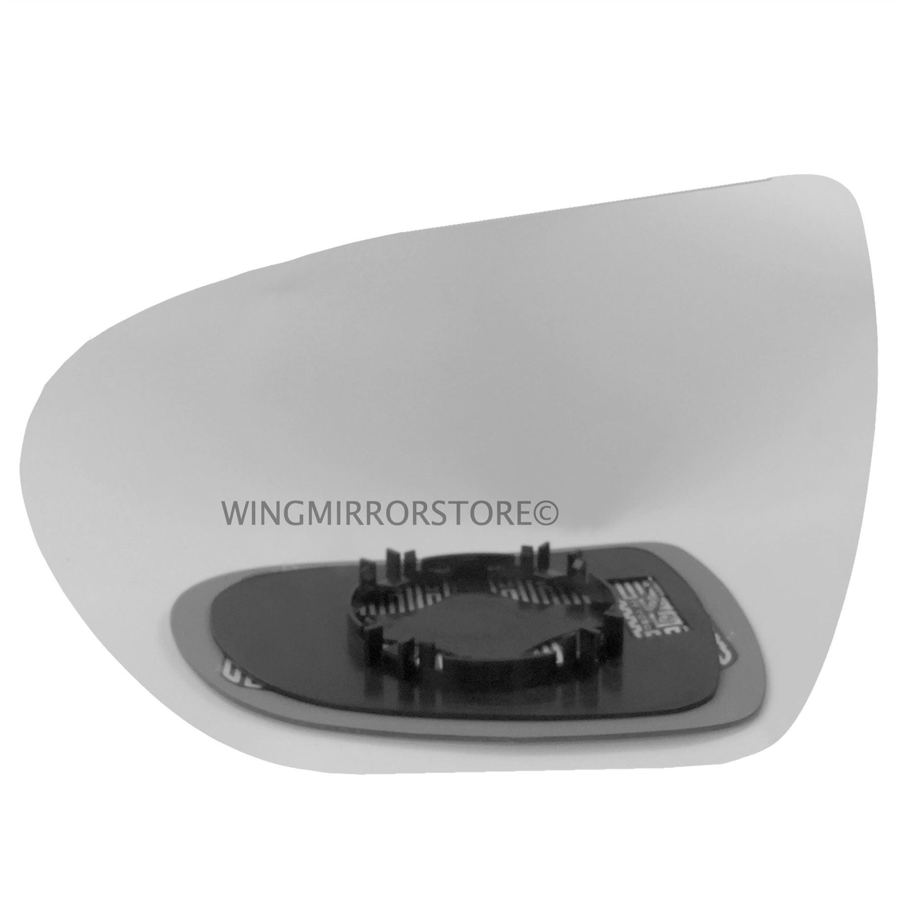 Hyundai i40 droit conducteur Wing Mirror Glass 2012-2019 Portes Côté Chauffé