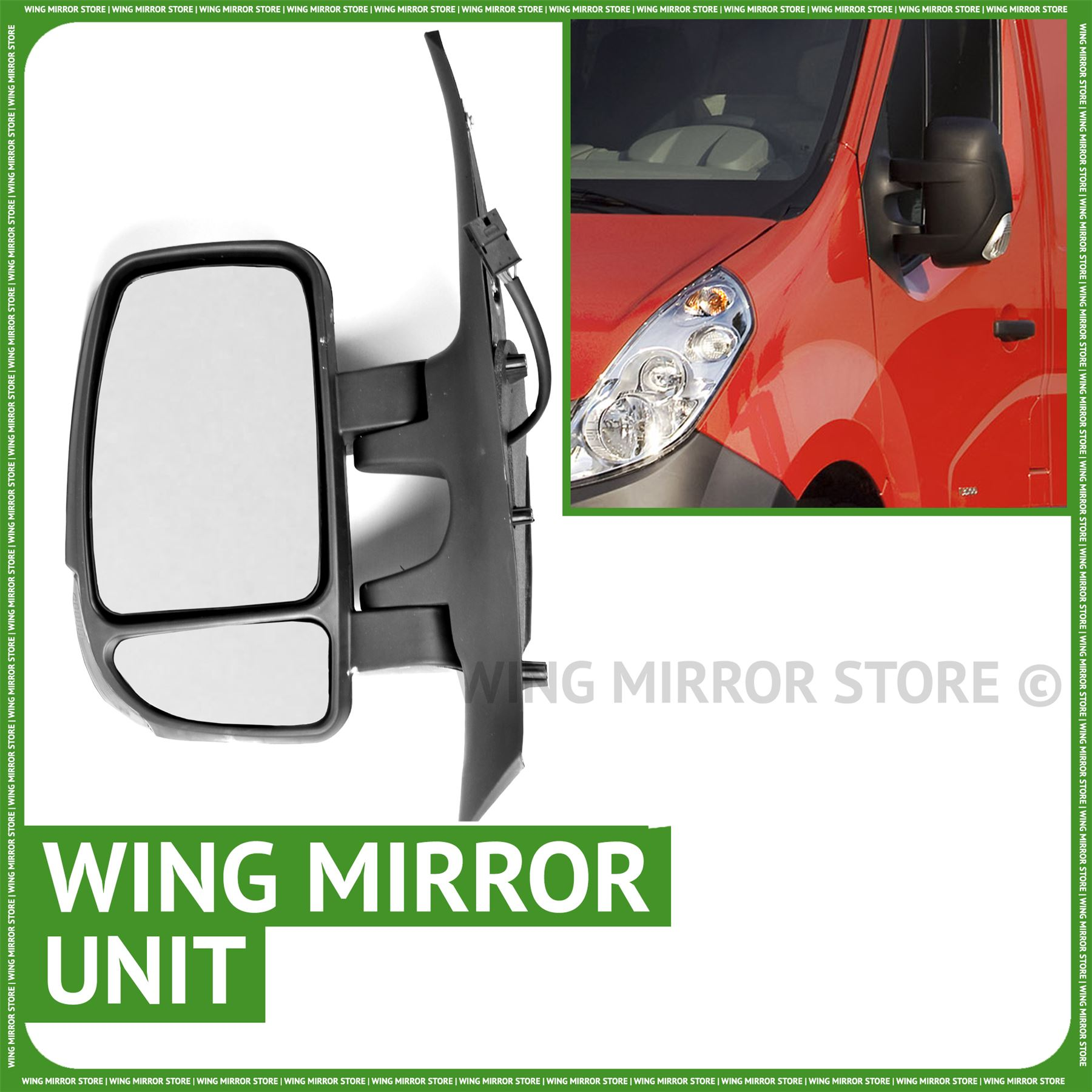 Renault Master Door Wing Mirror Indicator Lens 2010-2015 Right Driver side O//S